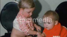 Eine typische Kinderkrippe in der DDR, 1979