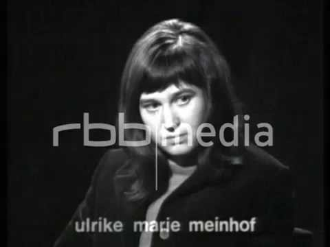 Interview with Ulrike Meinhof, 1968