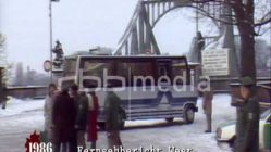 Agentenaustausch auf der Glienicker Brücke, 1986