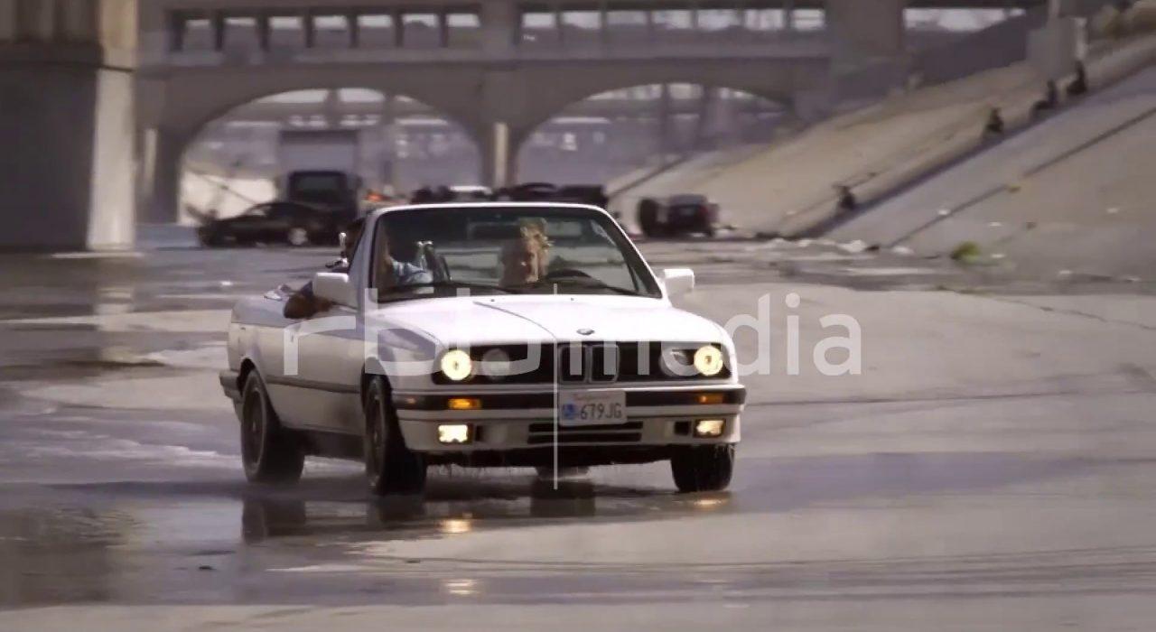 Autorennen auf dem Los Angeles River, 2016