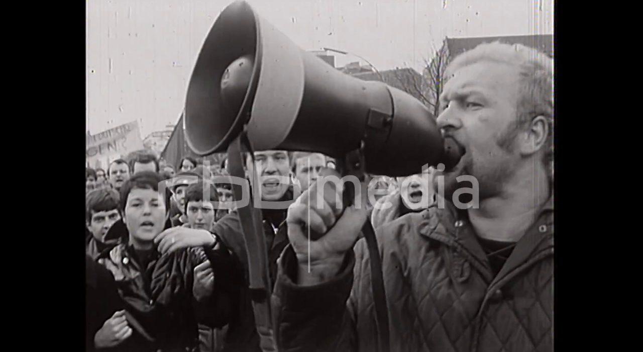 Demonstration auf dem Kurfürstendamm, 1968