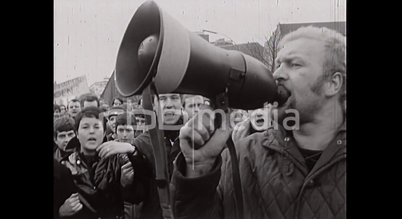 Demonstration on Kurfürstendamm, 1968