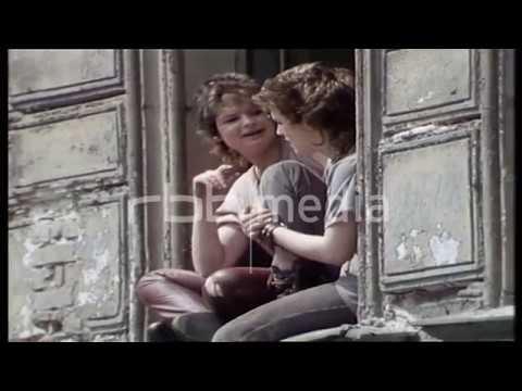 Squatters in Berlin Kreuzberg, 1981