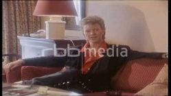 David Bowie im Interview, 1987