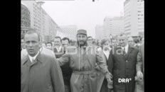 Fidel Castro visits Rostock, 1972