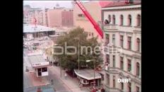 Demolition of Checkpoint Charlie, 1990