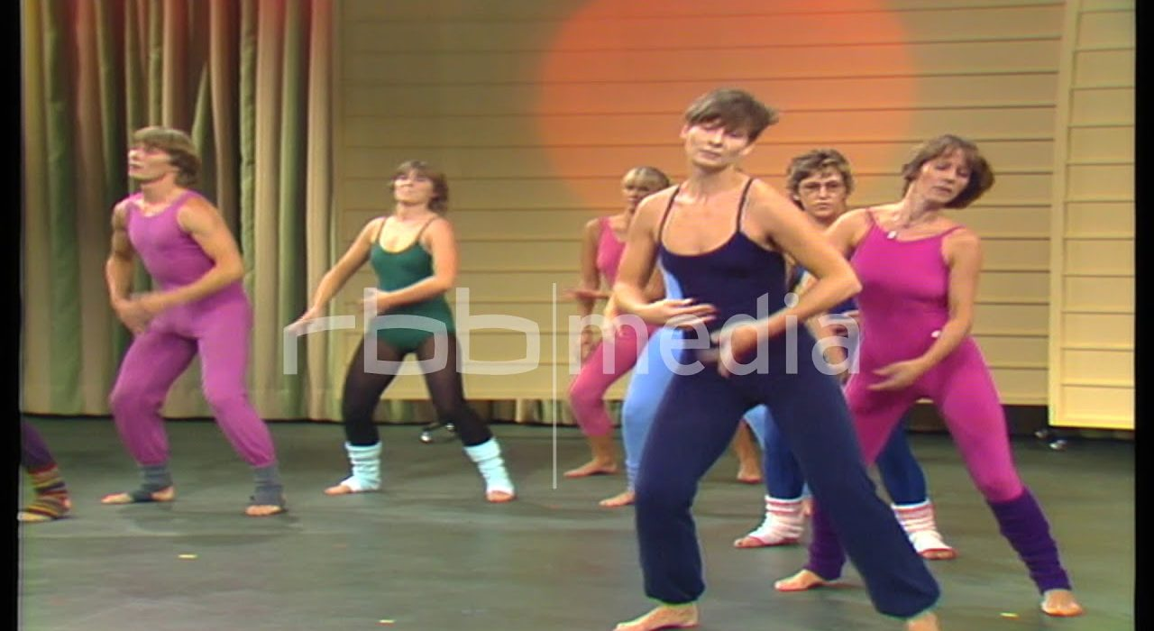 Aerobics at the IFA in Berlin, 1983