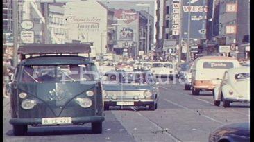 Autofahrt durch West-Berlin, 1969